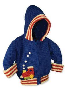 Boys Hoody Crochet Pattern by pattydavisdesigns on Etsy, $8.00