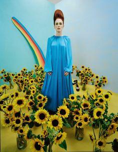 Stylefluid Trendz: W Magazine: 'The Movie Issue 2015' by Tim Walker: Celebrating Eccentricity of Cinema