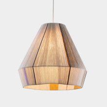 Ana Kras woven Bonbon Lamp