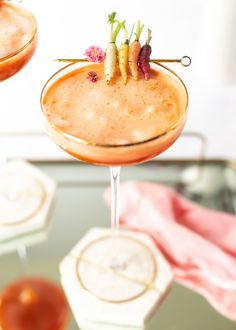 24 Carrot Cocktail - Craft and Cocktails
