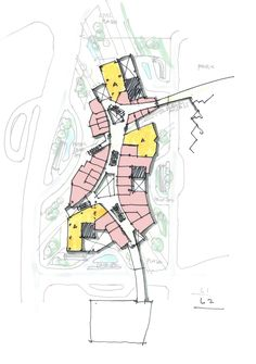 retail plan concept I randy carizo Retail Architecture, Architecture Graphics, Architecture Plan, Architecture Diagrams, Architecture Portfolio, Parque Linear, Conceptual Sketches, Urban Design Diagram, Plan Sketch