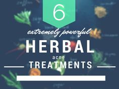 These 6 herbal acne treatments are a safer and less expensive way to treat acne. They are also readily available in most of our kitchens and gardens. You would be surprised at the many benefits they offer for overall health as well.