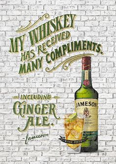 Jameson Irish Whiskey by Jon Contino, via Behance