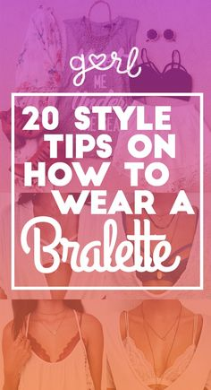 20 Ways to Wear Bralettes for Summer☀️ #Fashion #Musely #Tip