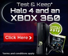 Test and Keep Halo 4 and an Xbox 360!