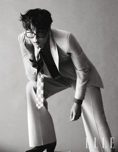 EXO's Kai graced the cover of the April issue of 'Elle' Korea. Kai showed off his charm, captivating the staff during th…