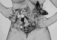 Worst kind of feeling...butterflies