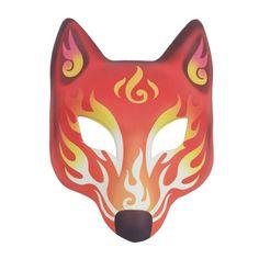 Halloween Cosplay, Halloween Masks, Mask Party, Party Party, Dress Party, Masquerade Costumes, Halloween Masquerade, Japanese Fox Mask, Wolf's Head