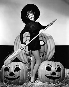 Happy Halloween from Cyd Charisse, 1949