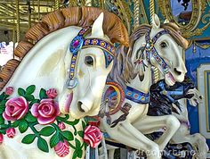 """Carousel Horse Tattoo   Here's The Scoop … The Lauderdale-By-The-Sea Town Manager """"Merry ..."""