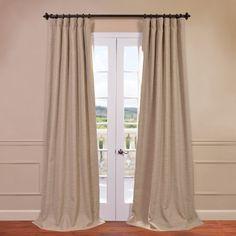 Freeman Solid Blackout Pinch Pleat Single Curtain Panel & Reviews | Joss & Main