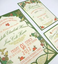 art deco outdoor wedding | Nouveau Art Deco Garden Party Style Wedding by oneLittleM on Etsy, $6 ...