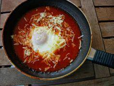 As Receitas da Patanisca: Ovos do purgatório -Uma receita muito simples, mas de sabor surpreendente. Com esta receita, não há desculpas para não cozinhar. Em menos de 10 minutos, temos o jantar pronto.