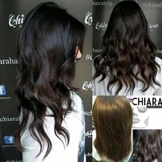#chocolate #cool #hair ...#bari #haisalon #quality .. @chiara_hairdressing @wellahair