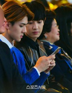 [141022] 2014 Autumn Seoul Fashion Week #Chanyeol #Sehun #EXO