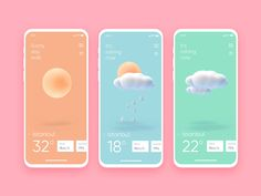 A list of top User Inteface (UI) and User Experience (UX) Design Works for Inspiration . Mobile app interfaces and Web design works. Interface Design, Application Ui Design, Interaktives Design, App Ui Design, Flat Design, User Interface, Mobile App Design, Web Mobile, App Design Inspiration