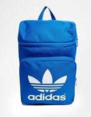 adidas Originals Classic Backpack in Blue Adidas Originals 0fa3478ca3