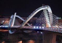 Bridges Architecture, Art And Architecture, Asphalt Road, Bridge Design, Santiago Calatrava, Suspension Bridge, The Other Side, Pedestrian, Bruges