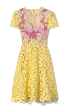 Valentino Two Tone florals and lace...perfection