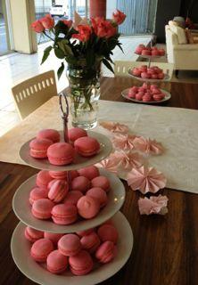 Saszali pink macaroons