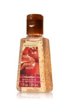 Bath and Body Works Anti-bacterial Pocketbac Sanitizing Hand Gel Caramel Apple Bath N Body Works, Body Wash, Bath And Body, Perfume, Packaging, Body Treatments, Body Spray, Smell Good, Shower Gel
