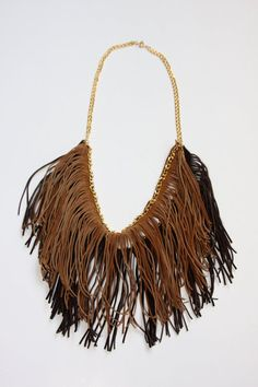 DIY Double Fringed Necklace: Create Couture Challenge