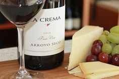 La Crema Chef Tracey Shepos introduces our Monterey-area Pinot to a delicious cow's milk cheese.