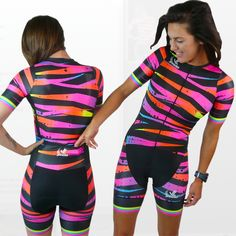 0cdef6326 JLVelo Women s Bright Lights Cycling  amp  Triathlon suits and kits made by  women for women