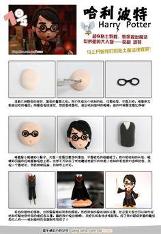Laska's: tutorial - Harry Potter's characters