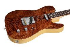 Fender Custom Shop Exotic Redwood Top Telecaster NOS Natural | Rainbow Guitars