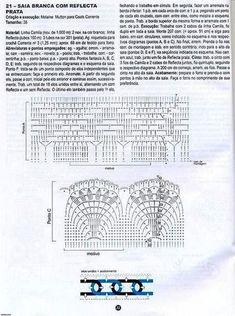 FALDAS PARA TEJER A CROCHET VARIOS MODELOS CON PATRONES GRAFICOS ~ TODO PATRONES CROCHET GRATIS PASO A PASO ESQUEMA Y GRAFICOS