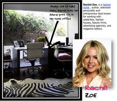 Inspiring office space from Stacia's success blog