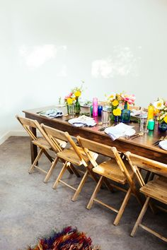 Elephant Table | Summer Gathering | Bohemian Dinner Party | Creative Table Setting | via Birch & Brass Vintage Rentals for Weddings and Special Events in Austin, TX