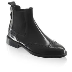 Cadogan - chelsea brogues by Russell & Bromley £215 size 36