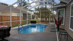 Pool enclosures are becoming more popular in the low country. Call Alaglas for an estimate: 843-789-9469