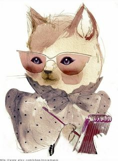 catart - I am now inspired - screw naked ladies - cat art is the next best thing