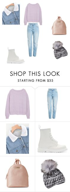 """""""Untitled #397"""" by tori-konkina on Polyvore featuring Dr. Martens and Tahari"""