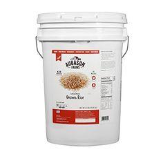 Augason Farms Long Grain Brown Rice Pail, 42 lb Augason F... https://www.amazon.com/dp/B00LBGM5N2/ref=cm_sw_r_pi_dp_x_OiCkzb8S5367V