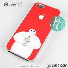 i love starbucks baymax Phone case for iPhone 4/4s/5/5c/5s/6/6 plus