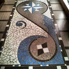 3efdd8443540a2cf7bce09cf517a6a7e Mosaic Diy, Mosaic Crafts, Mosaic Tiles, Tiling, Stone Mosaic, Mosaic Glass, Stained Glass, Mosaic Madness, Floor Art