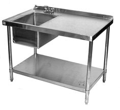 Quality Commercial Kitchen Equipment - tables with bowl USA Equipment Direct