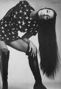 Cher (photographed by Richard Avedon) for Vogue Nov. 1969