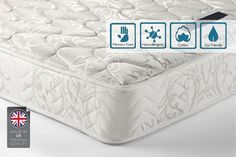 instead of (from Furniture Italia) for a double memory foam spring mattress, for a king mattress – save up to Memory Foam Mattress Topper, Mattress Springs, Made In Uk, Christmas Makes, Glasgow, Cool Things To Buy, Memories, Sleep, Cool Stuff