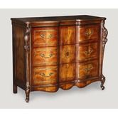 Found it at Wayfair - Three Drawer Hall Chest in Medium Brown