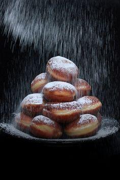 Doughnuts luxury...Let it snow, Let it snow, Let it snow!