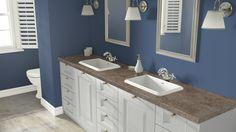 Wilsonart visualizer - counter floor cabinets and walls chosen