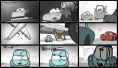 cars 2 storyboard