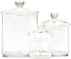 Deco 79 Glass Jar 9 by 7 by 5Inch Set of 3 ** You can find out more details at the link of the image.
