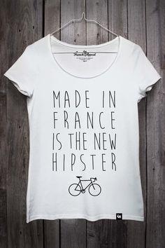 cfcef176028fd Made in France is the new hipster Mode Éthique, Ethique, Idées Cadeaux, Haut
