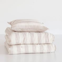 LINEN LINES QUILT AND CUSHION COVER - Quilts - Bedroom | Zara Home Spain
